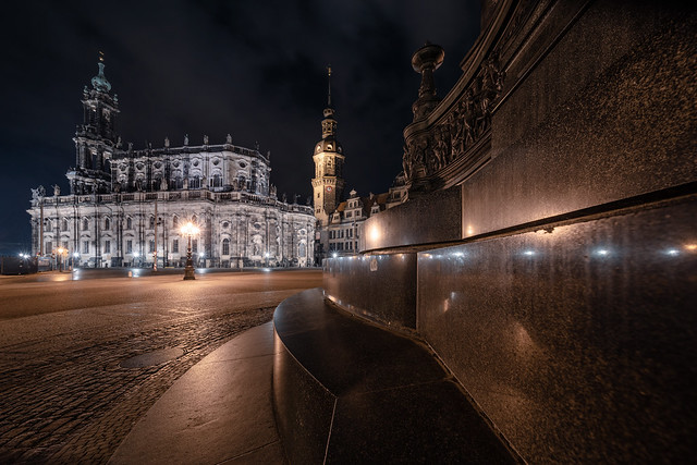 Dresden - nightly impressions
