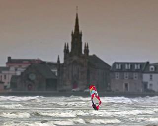 Windsurfing Ardrossan Brendan