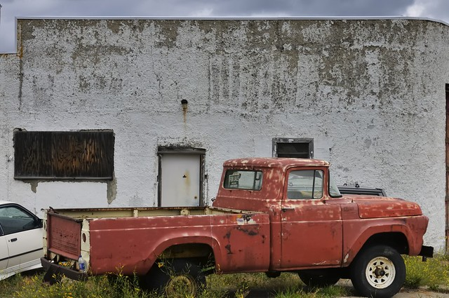 Do I have a bargain for you - unrestored 1960s Mercury pickup truck - Coleman, Alberta.