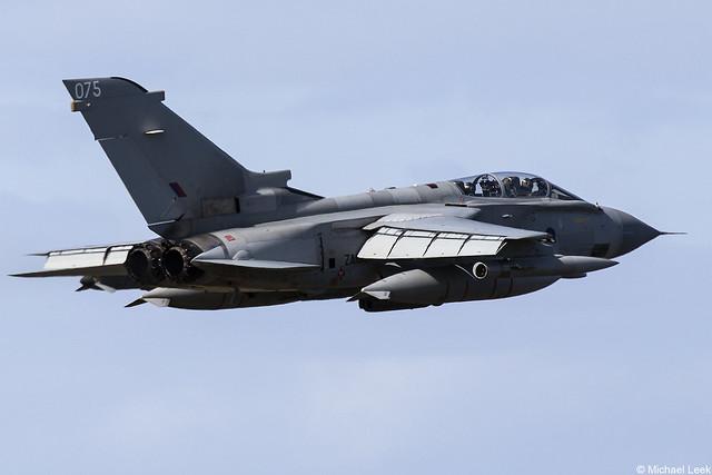 RAF Panavia Tornado GR4 ZA613/075; XV (R) Squadron, RAF Lossiemouth, Scotland