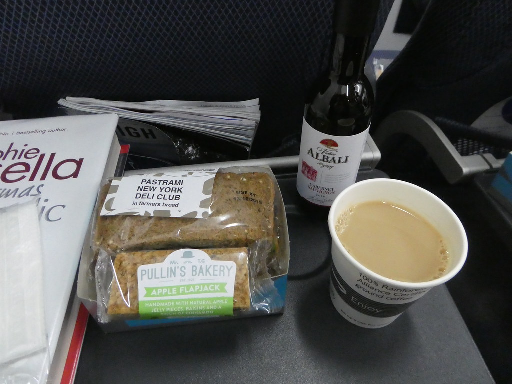 OBA in-flight snack served between Moscow and London
