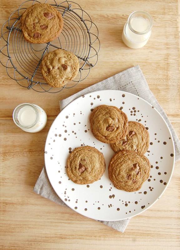 Os Melhores Cookies com Gotas de Chocolate da Bon Appétit