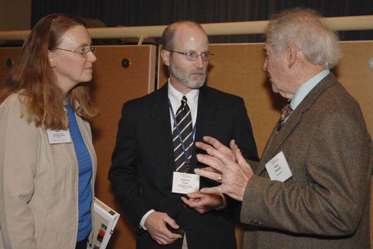 Veda Rives, Richard Finch, and Rudy Pozzatti