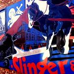 New mural at Slingers in Preston