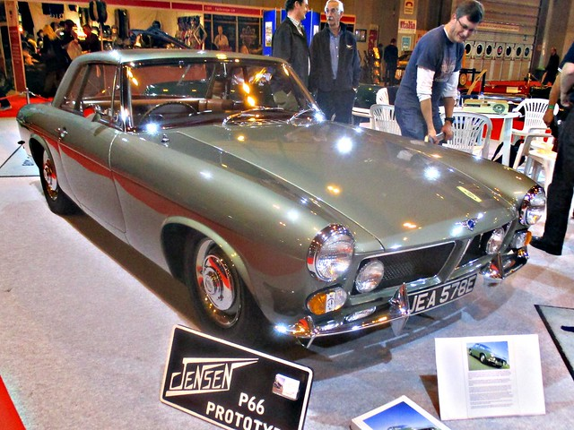 304 Jensen P66 Prototype (1965) Car of the Show