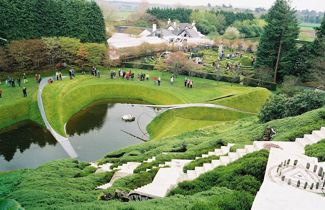 The Garden of Cosmic Speculation, England