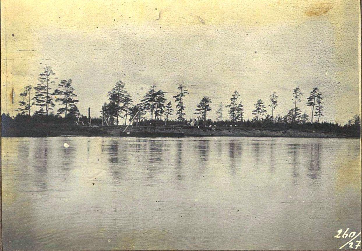 260. Река Б.-Горбыль во время разлива