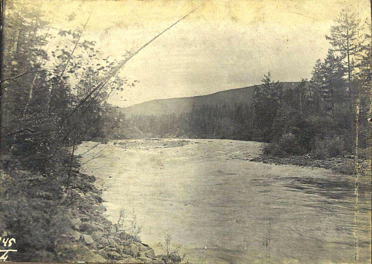 245. Река Читкан у брода (Забайкальская область)