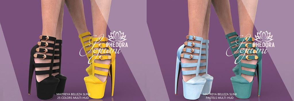 "Phedora for Kustom9 ~ ""Sejuani"" Heels ♥"