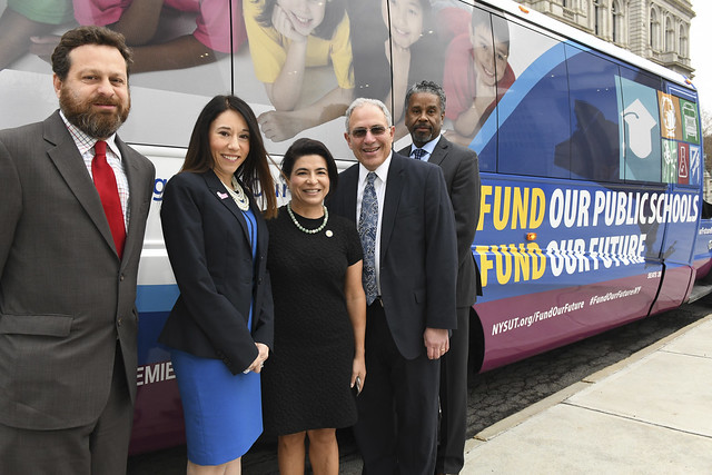 'Fund Our Future' Bus Tour Kick Off Events