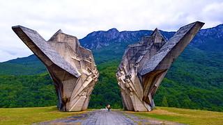 Monument for Battle of Sutjeska