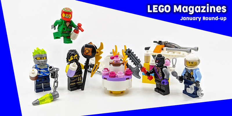 LEGO Magazines January 2020