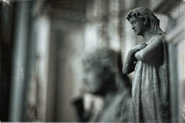 Genova-Staglieno monumental cemetery