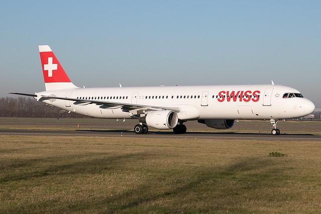 HB-IOD, Airbus A321-211, Swiss