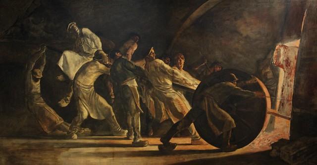L'enlèvement du creuset brisé (1885)