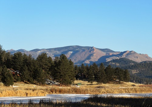 lakegeorge colorado southplatteriver lake river mountains pikenationalforest landscape mountain backroad southpark parkcounty winter wetland pike nationalforest rural snow