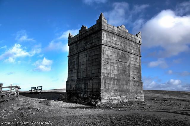 Rivington pike on the west pennine moors.