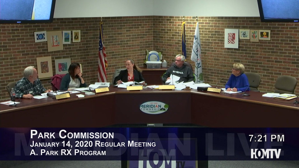 Park Commission Discusses Park Program To Help Residents Well-Being