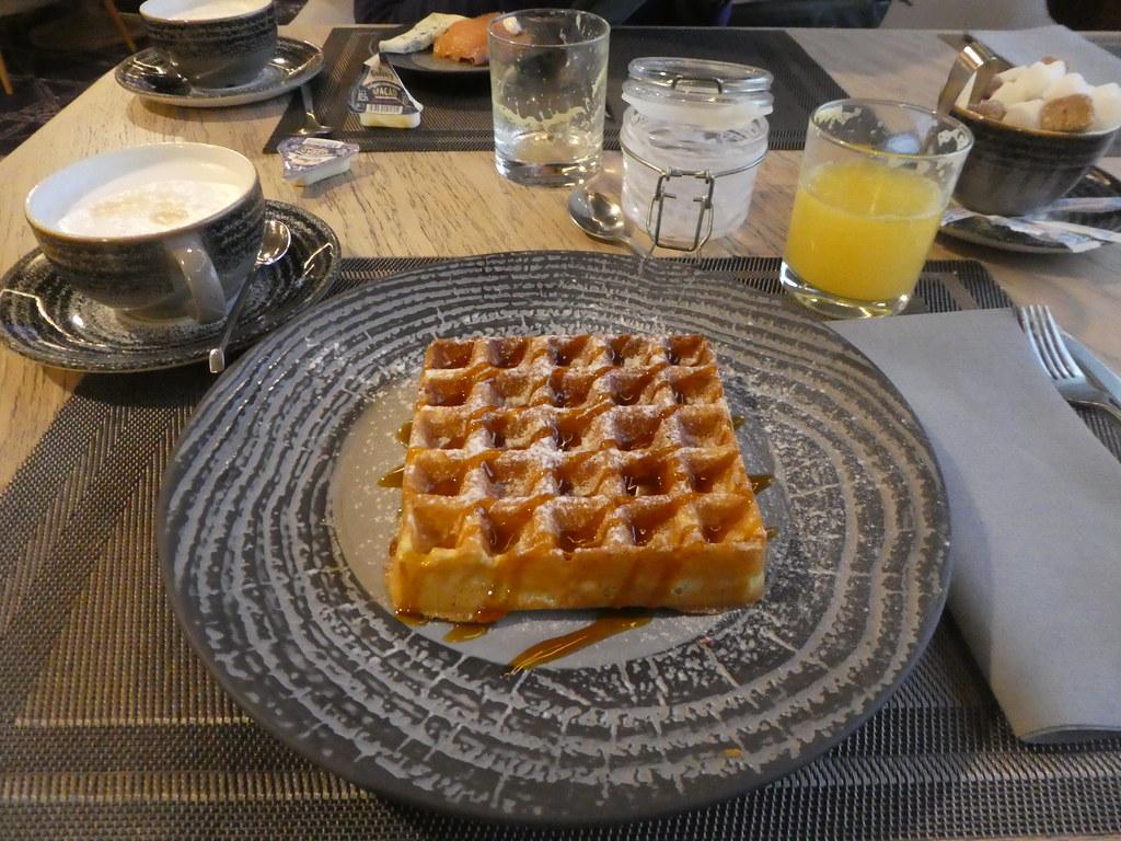 Breakfast at the Holiday Inn Sokolniki Moscow
