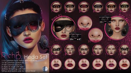 RichB. Heda Set