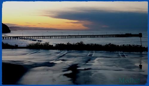 avilabeach sanluisbay sunrise surf horizon theoldpipeline sand