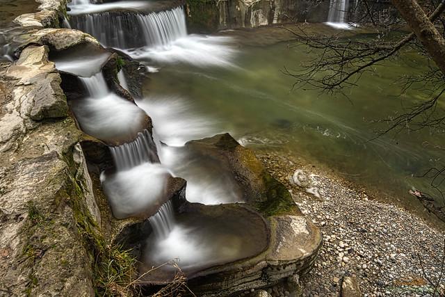 Wasserfall Töss 2, Affenschlucht