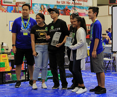 Hawaiian Electric at the Hawaii State VEX Robotics Championships — Jan. 11, 2020: The Promote Award!