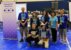 Hawaiian Electric at the Hawaii State VEX Robotics Championships — Jan. 11, 2020: The Think Award!
