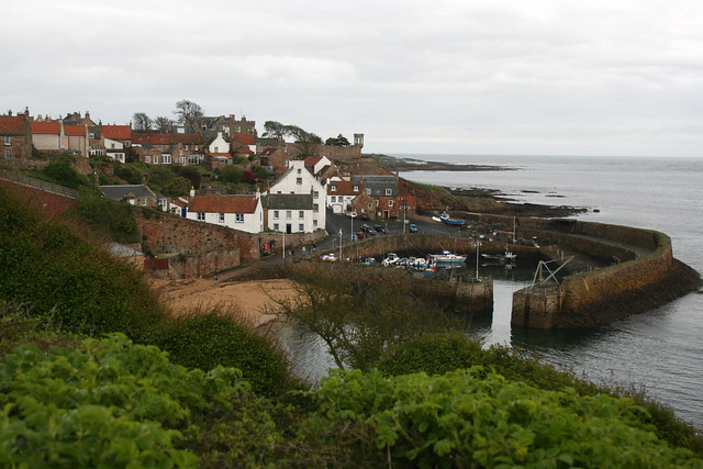 The harbour at Crail