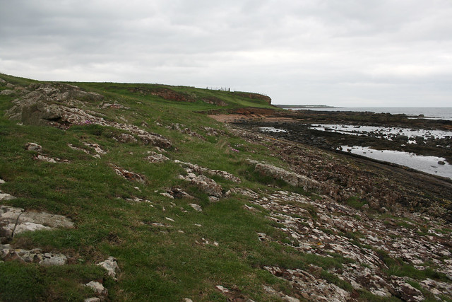 The coast between Anstruther and Crail