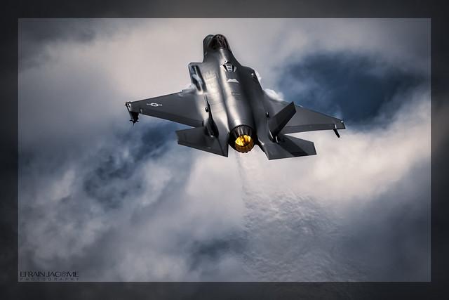 ✈️ Lockheed Martin F-35A Lightning II USAF, TLP Junio 10 de 2019. Albacete (ES)