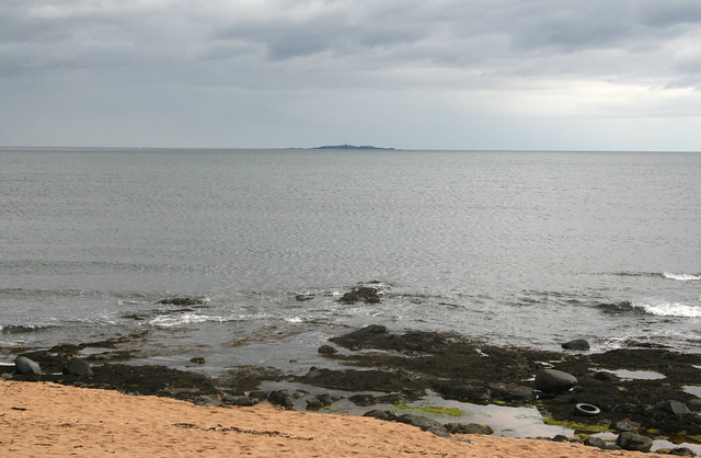 The isle of May viewed from near Elie