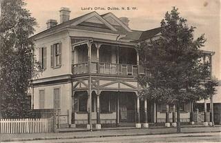 Land's Office in Dubbo, N.S.W. - early 1900s