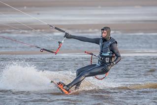 Bigbury Bay Kite Surfer 05