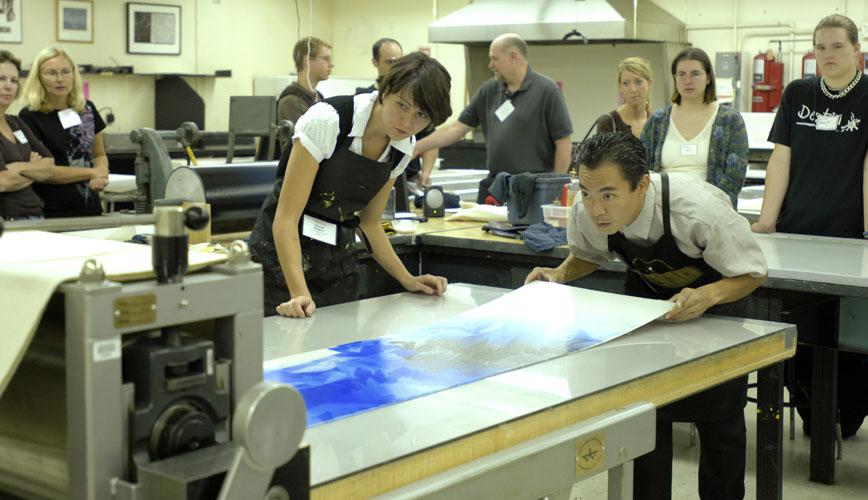 press preparation