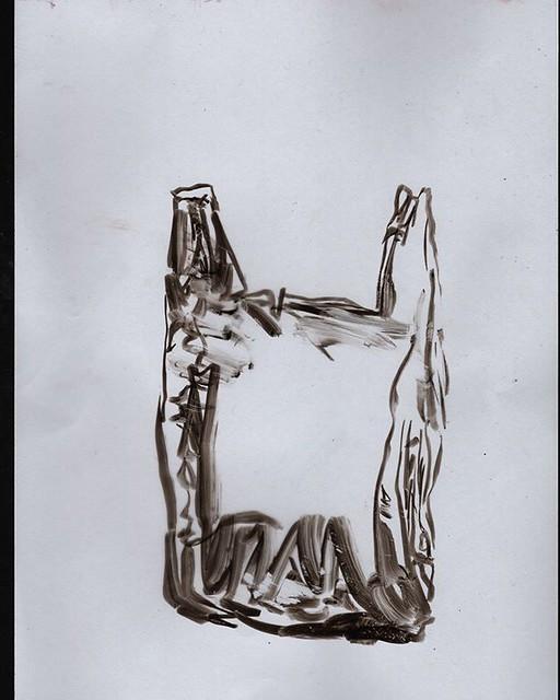 Throwback Thursday.  #plastics #plasticbag  #recycling #waste #singleuseplastic #climatechange #greens  #environmentalist #textiles #polyethylene  #extinctionrebellion #extinction #stilllife #stilllifepainting  #illustrationartists #melbourneartist #arte