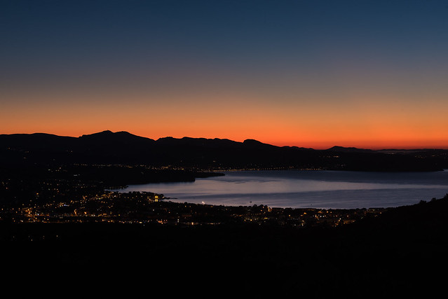 Sunrise over La Ciotat, France - Lever de soleil sur La Ciotat, France
