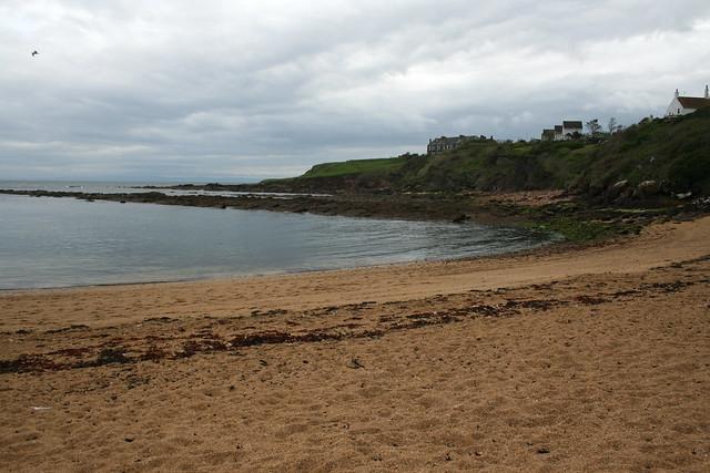 The beach at Crail