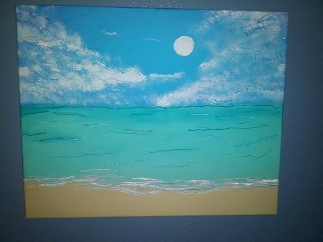 beach art🎨