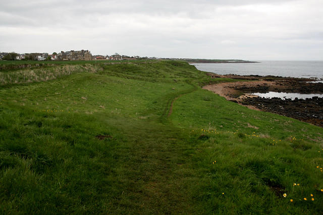 Approaching Crail