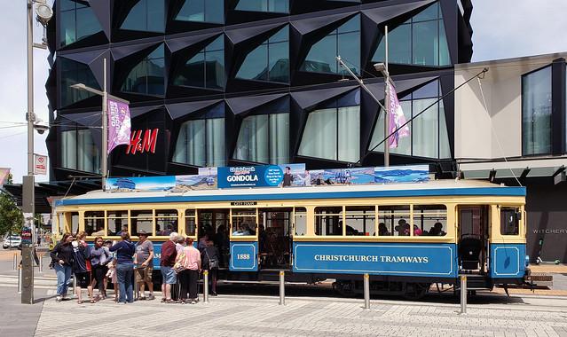 Tram 1888. Christchurch NZ.