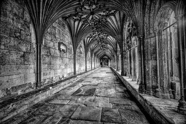 Canterbury Cathedral hall in Canterbury, England