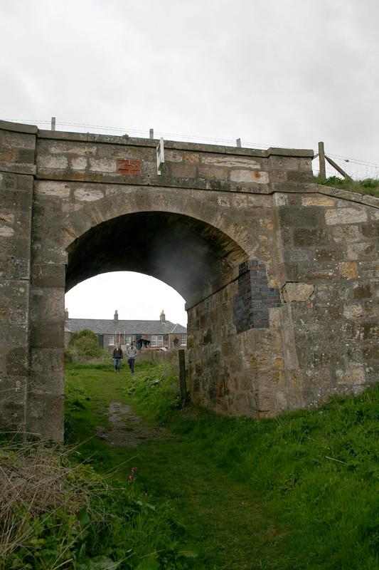 The old railway line near Elie
