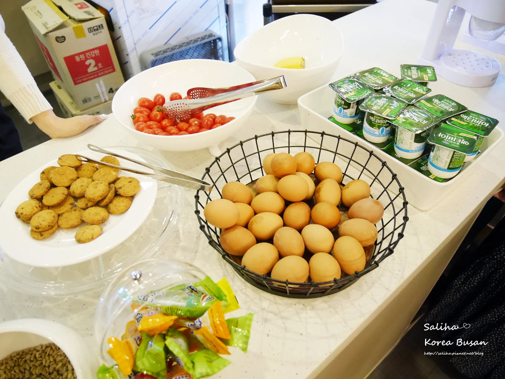 韓國釜山旅行自由行程推薦西面棕色點點商務飯店早餐Browndot Business Seomyeon (3)