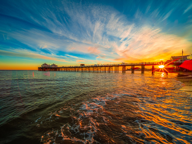 Malibu Pier Sunset Surfriders Beach California Fine Art Landscape Nature Fuji GFX100 Sunset Photography! Dr. Elliot McGucken dx4/dt=ic California Master Fine Art Medium Format Photographer! Venus Laowa 17mm f/4 Zero-D Lens GFX MF Ultra Wide Angle Lens!