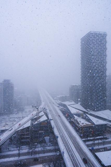 Snowmageddon 2020 Vancouver