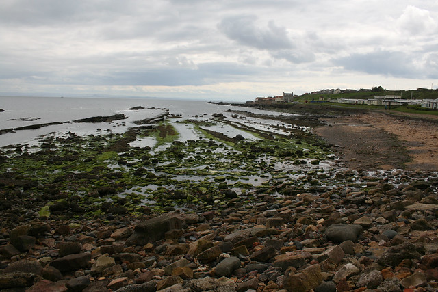 The beach at Anstruther