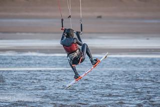 Bigbury Bay Kite Surfer 02