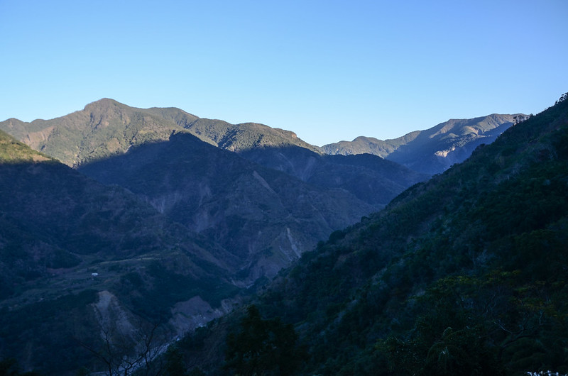 鐵本山產道西眺群山(H 1187m) (4)