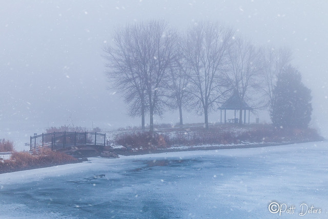 Simley Island Winter Fog